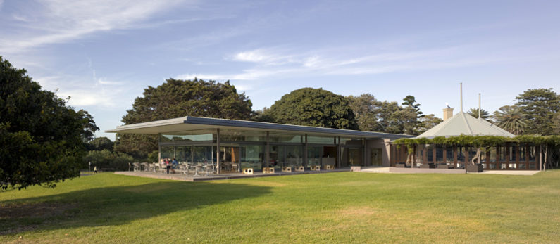 Centennial Park Dining Restaurant Architecture
