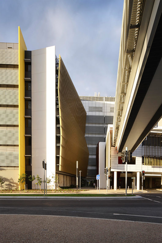 Cairns Hospital Exterior Architecture