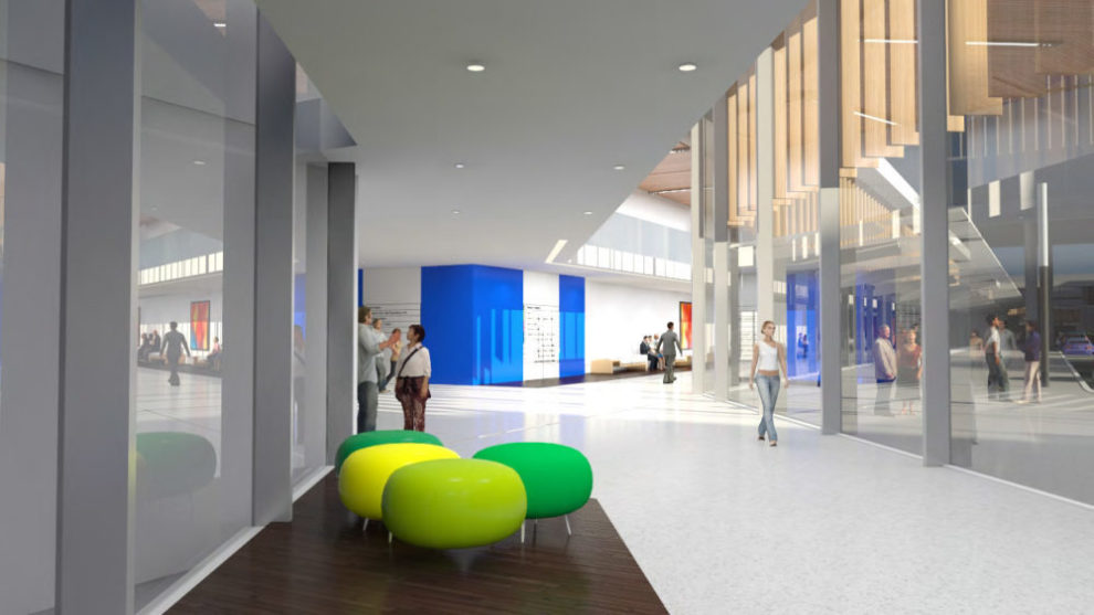 Westmead Hospital 3D Render Artist Interpretation Interior Wayfinding