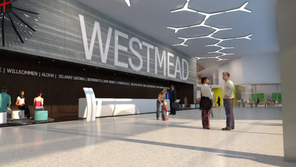 Westmead Hospital 3D Render Artist Interpretation Interior Foyer