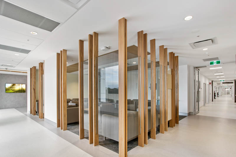 Gosford Hospital Interior Timber Screen