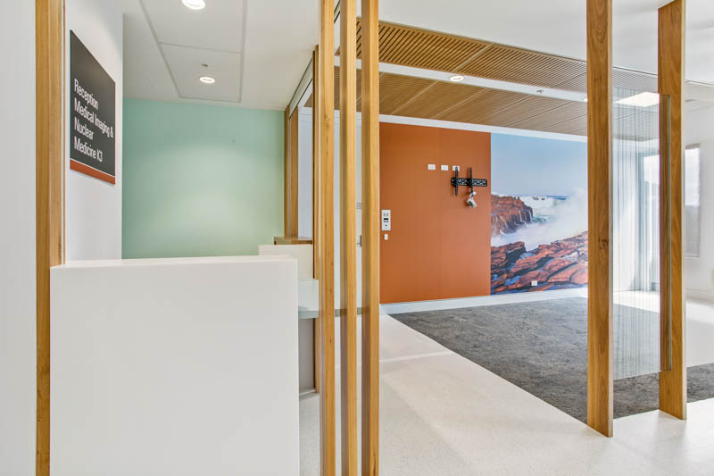 Gosford Hospital Interior Reception Finishes